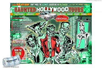 Characters for Haunted Hollywood Website