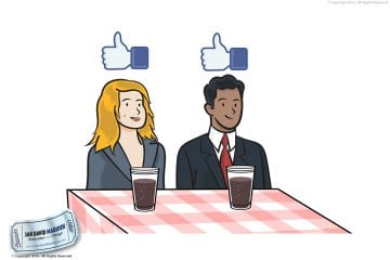 Focus Group Business Illustration