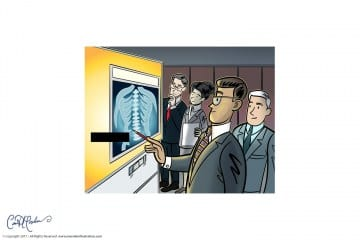 X-Ray - Business Illustration for ELS