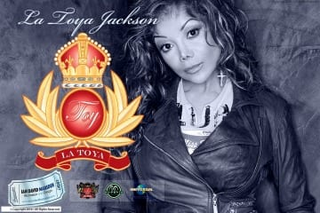 La Toya Jackson TOY Crest Design