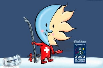 St. Moritz Official Mascot Ski World Championship 2003