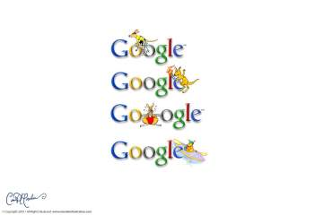 Google Doodles by Marsden