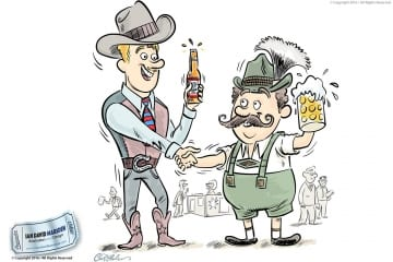 American Beer and German Beer