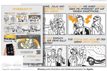 Comic for Dfreeeze App