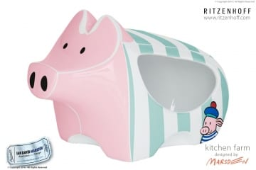 Fun RITZENHOFF Piggy Design