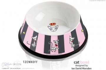 RITZENHOFF Cat Bowl Character + Design