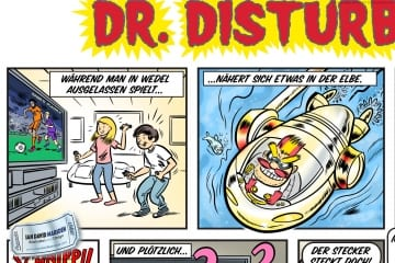 Comic for Stadtwerke Wedel