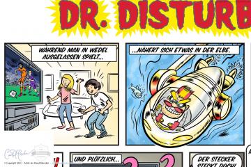 Comic for Stadtwerke Wedel