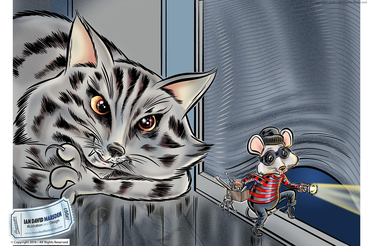 Cat and Mouse Burglar