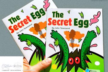 The Secret Egg illustrated by Ian Marsden