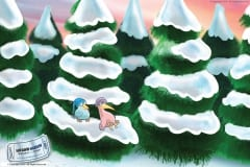 Snowbirds chilling