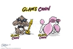 Glams Canin Stickers