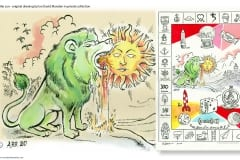 The Green Lion Devours The Sun