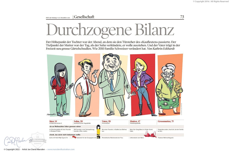 The modern Swiss family
