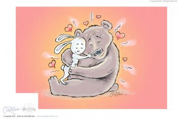 Time for a hug!