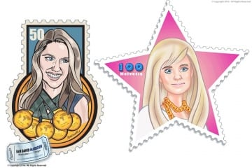 Sports Stamps NZZ am Sonntag