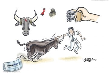 Taureau Sports Illustrations for Magazine