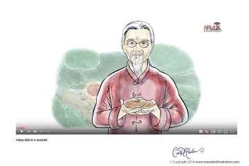 Wise Man with Mushroom