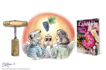 Schweizer LandLiebe 2019 zum Thema Wein