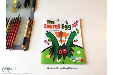 The Secret Egg - Children's Book Illustration