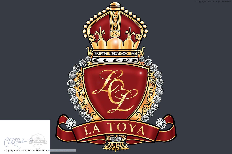 La Toya Jackson Diamond Crest