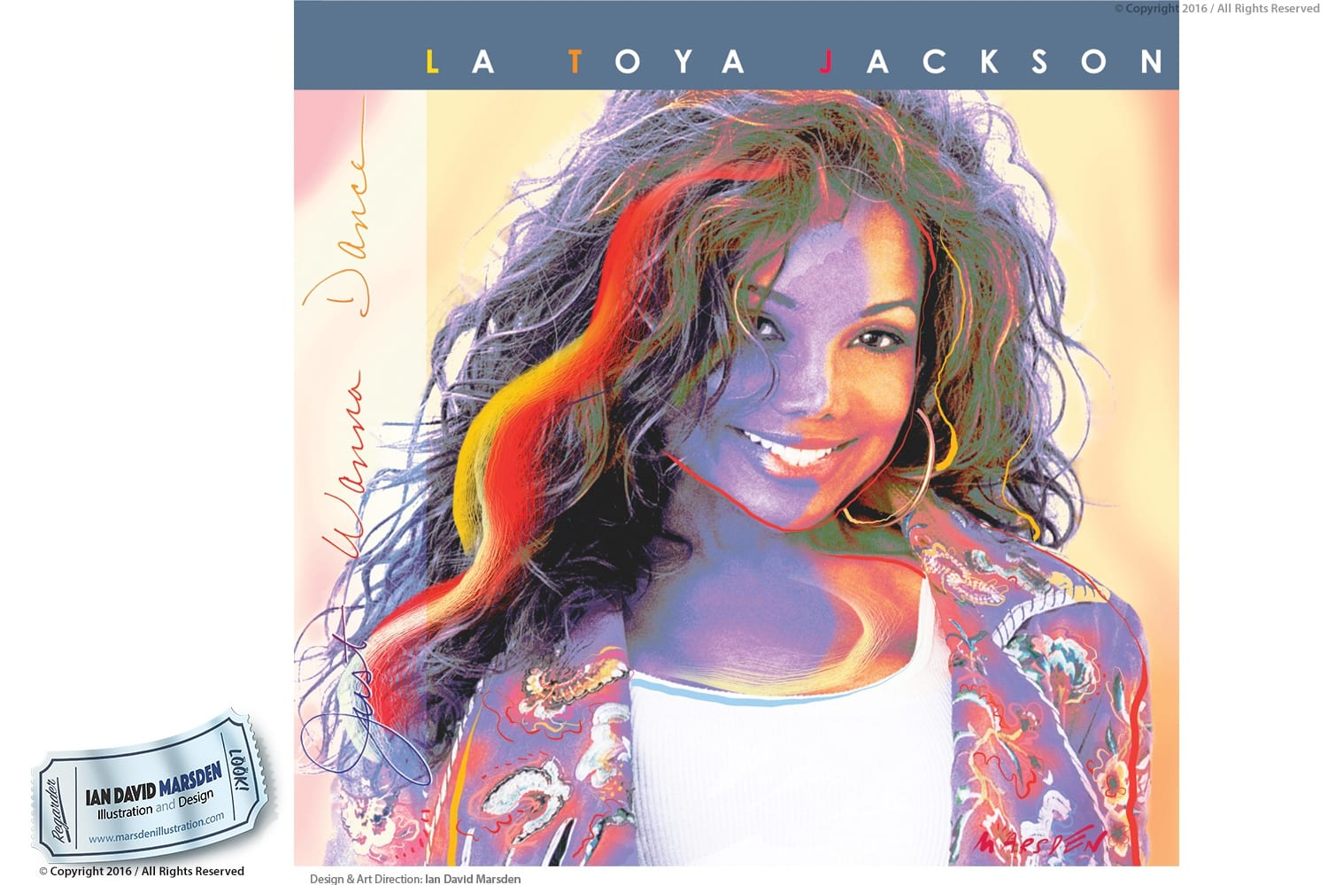 Album Design for Latoya Jackson