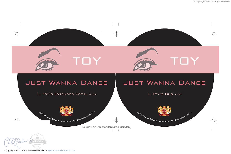 La Toya Jackson TOY CD Design