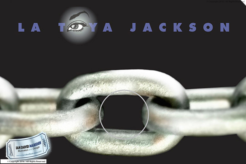 La Toya Jackson TOY Eye logo