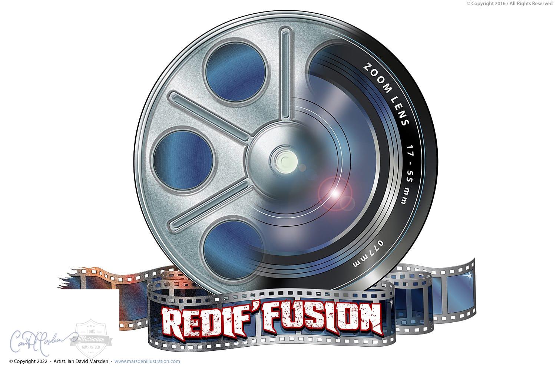 Redif'Fusion Logo Design