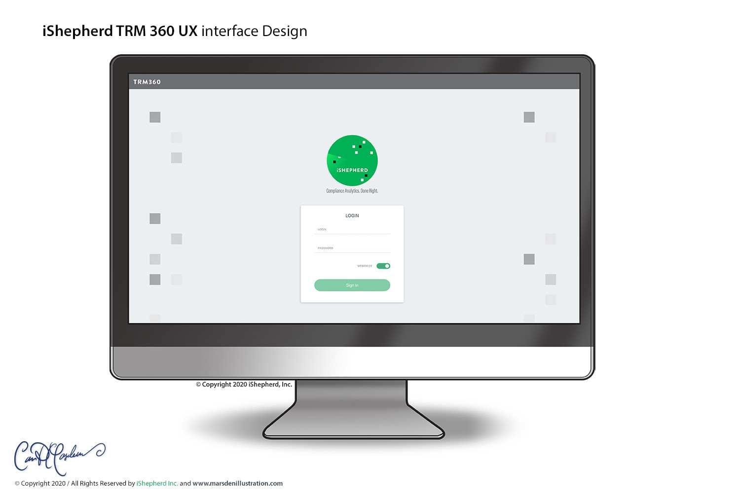 GUI and UX Design for TRM360 Software - iShepherd Inc.