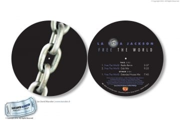 La Toya Jackson TOY CD Design