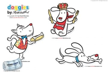 Doggies Character Design Licensing