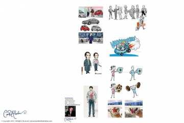 Various Character Design Samples