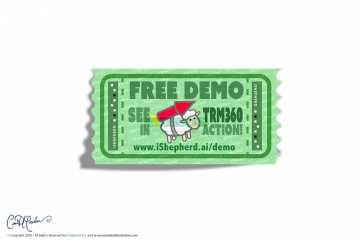 Free Demo Ticket Stub with Rocket Sheep - iShepherd, Inc.
