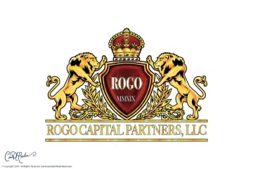 Rogo Capital Partners, LLC Logo and Crest Design