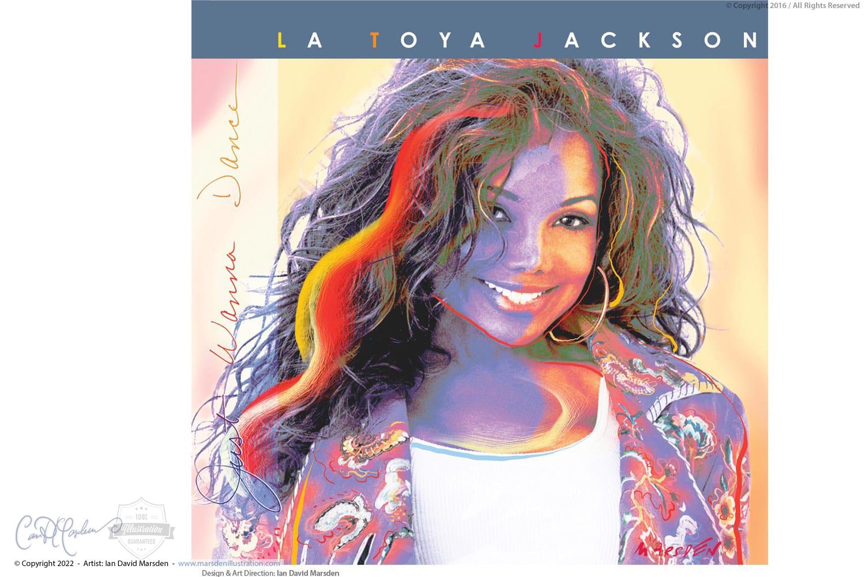 La Toya Jackson album cover design