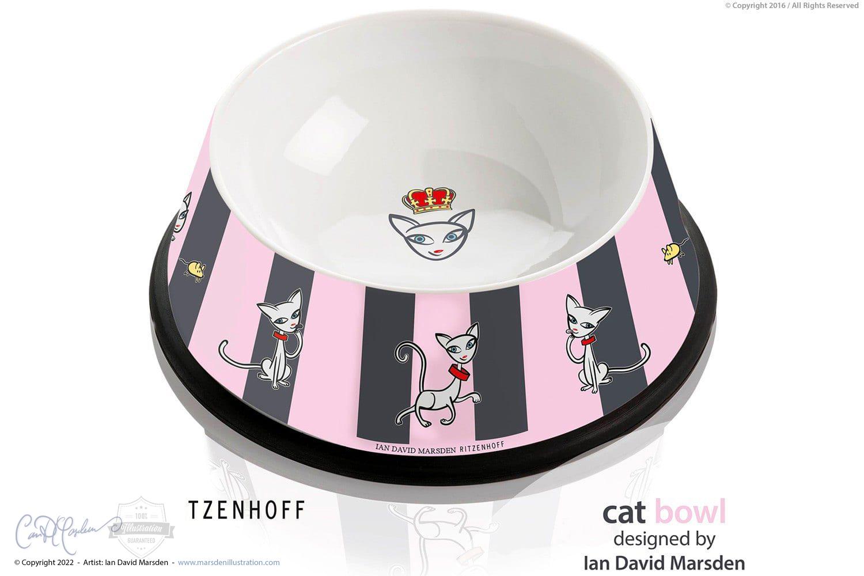RITZENHOFF Cat Bowl by Marsden