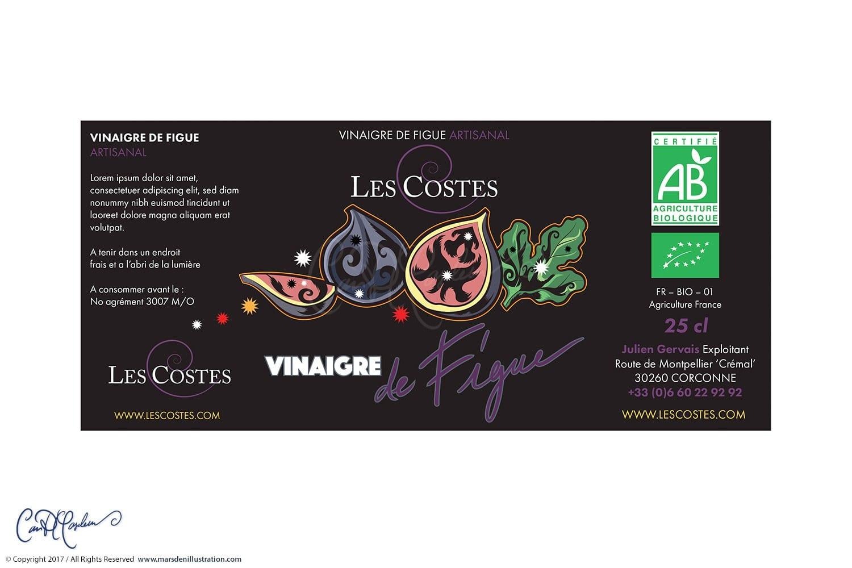 Fig Vinegar Label