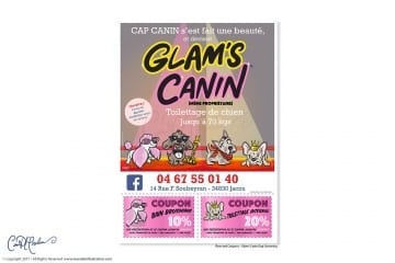 Glams Canin C.I. - Salon Canin Jacou