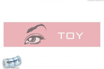 La Toya Jackson Toy Eye Logo and