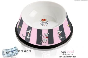 Cat Bowl Design by Ian David Marsden