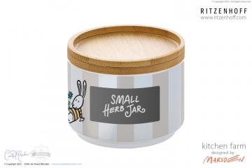 RITZENHOFF Kitchen Farm Small Jar by Marsden