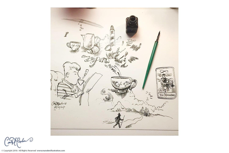 Pen Doodling