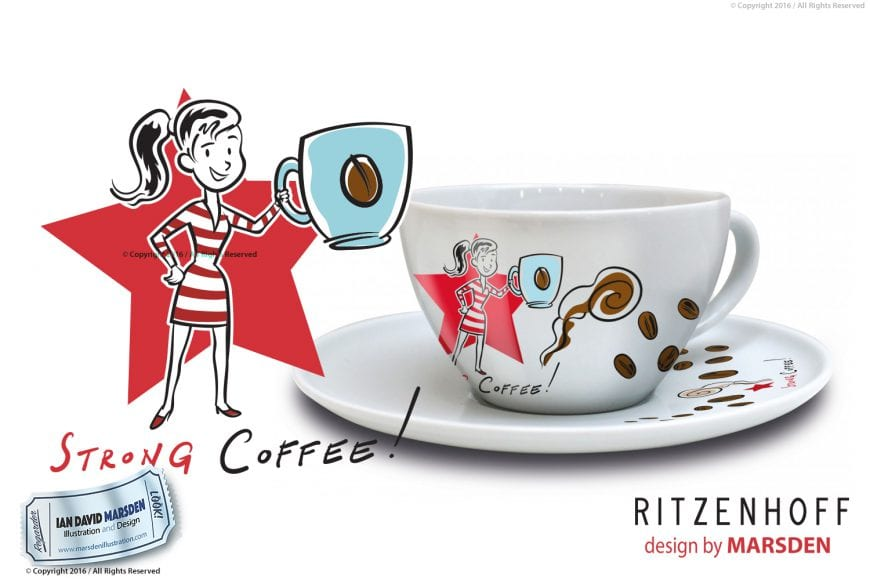 RITZENHOFF Coffee Love Woman Cup by Marsden