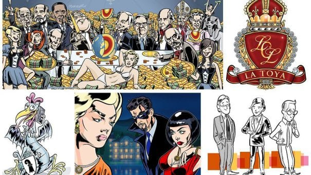 Independent illustrator and cartoonist Ian Marsden