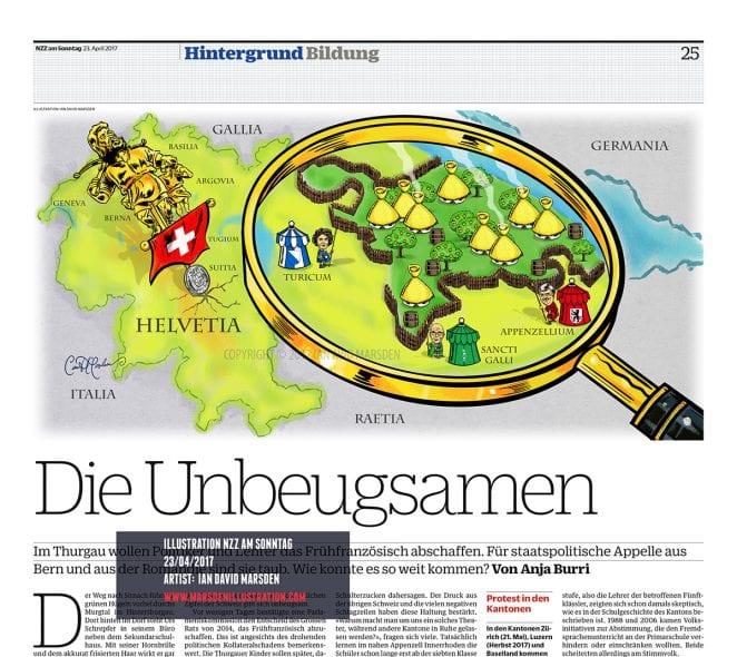 """NZZ am Sonntag / Hintergrund Bildung """"Die Unbeugsamen"""""""