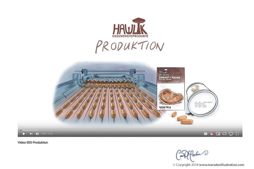 Explainer Whiteboard Videos for Vital Mushrooms - Hawlik Gesundheitsprodukte GmbH