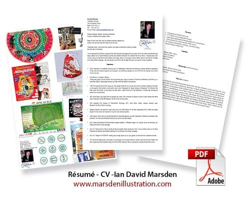Informations sur Ian David Marsden